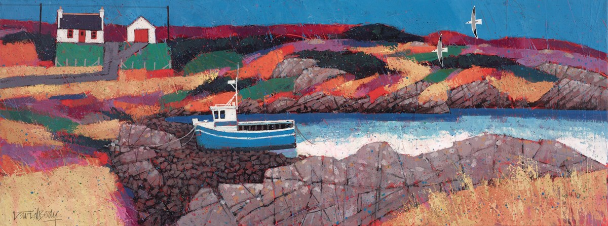 Low Tide by david body -  sized 31x12 inches. Available from Whitewall Galleries